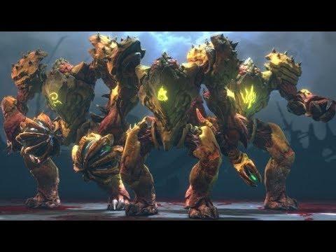 Hell Guards vs The Doomslayer (ultra-violence mode)