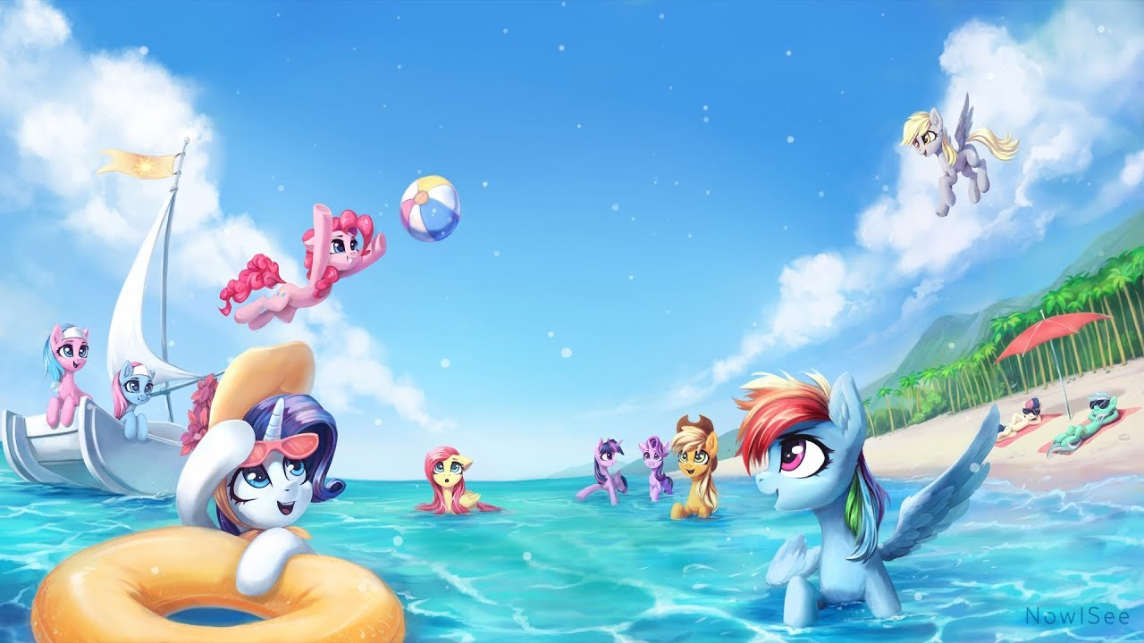 Mlp Summer Animated Wallpaper Youtube