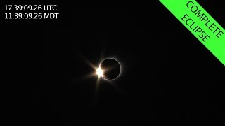 2017 Total Solar Eclipse - Complete Eclipse