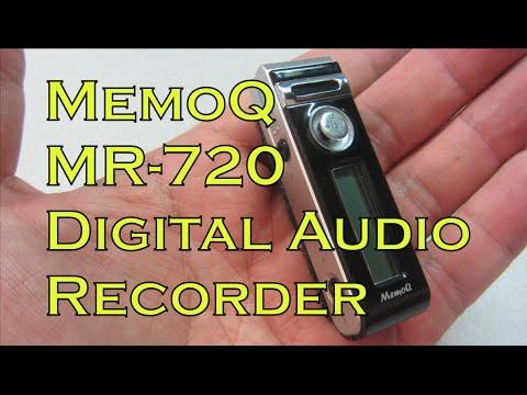 MemoQ MR-720 Digital Audio Recorder