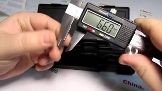 Цифровой Штангенциркуль Calipers - распаковка и ОБЗОР #119 ПЕРЕЗАЛИТО(, 2016-07-07T05:00:03.000Z)