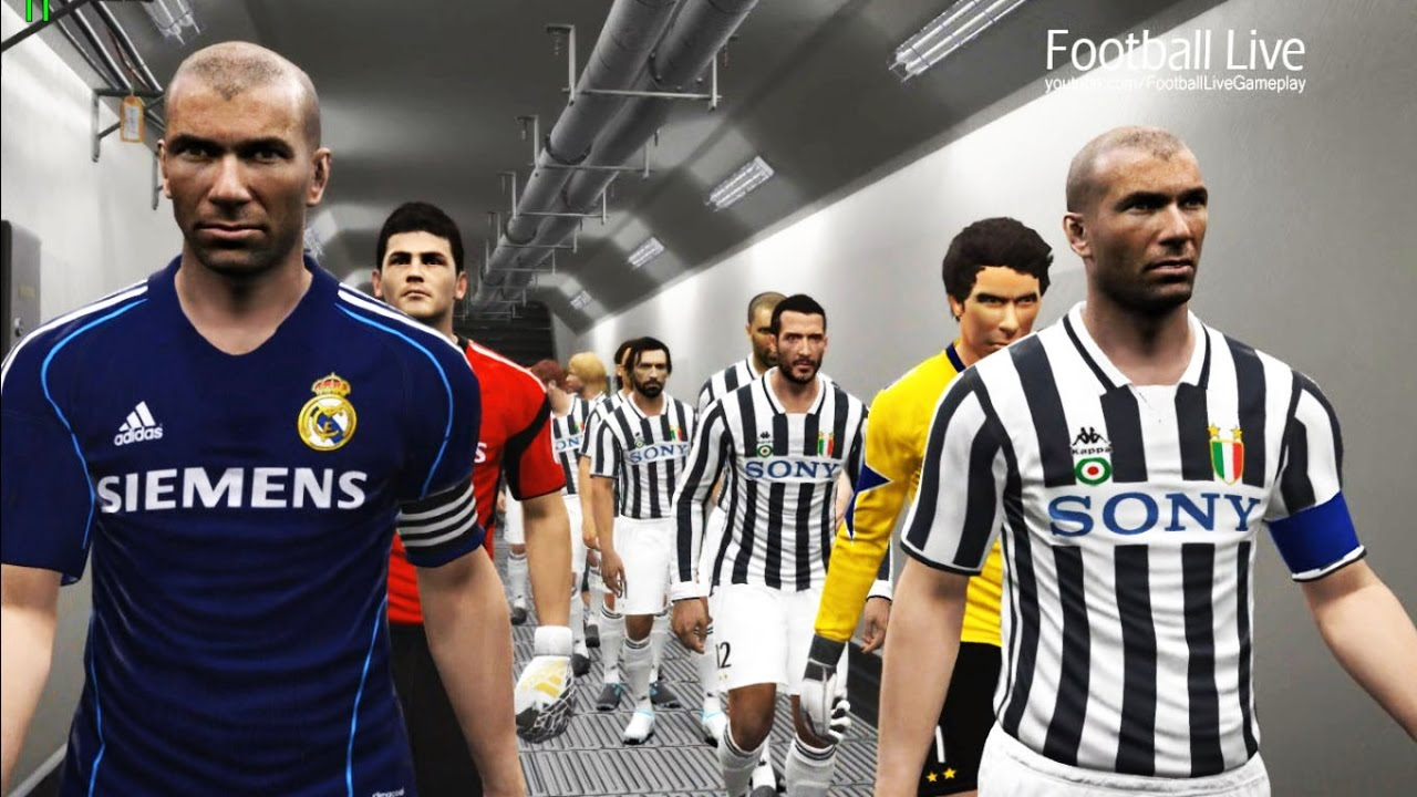 on sale 9ffca 00ca7 PES 2017 | classic JUVENTUS vs classic REAL MADRID | Free Kick Goal & Full  Match | Gameplay PC