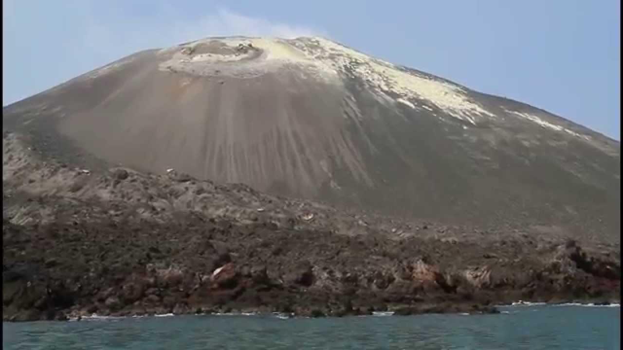 V Is For Volcano Krakatoa - Anakrakatoa...