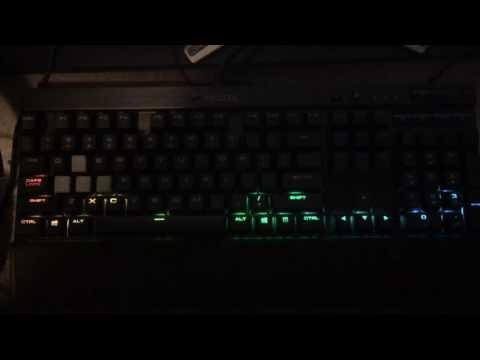 CUE audio visualizer K70 RGB