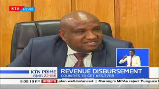 County Gov\'ts are set to receive Ksh 378B after the president signed the division of revenue bill