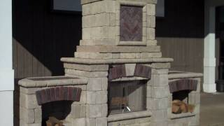 Outdoor Fireplace Design From Chris Orser Landscaping