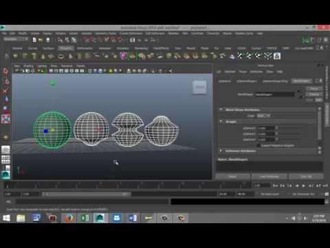 Maya 2014 tutorial