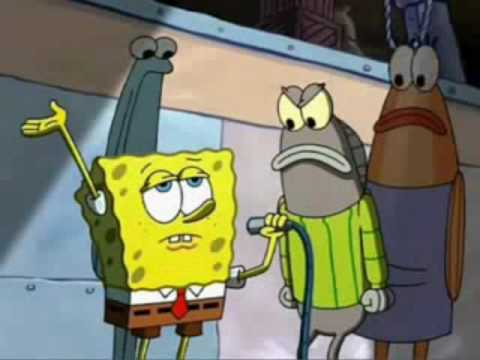 Spongebob's White & Nerdy