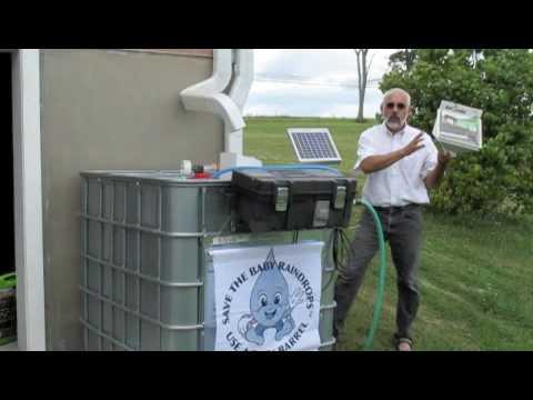 Solar Ed Rain Barrel Pump Kit