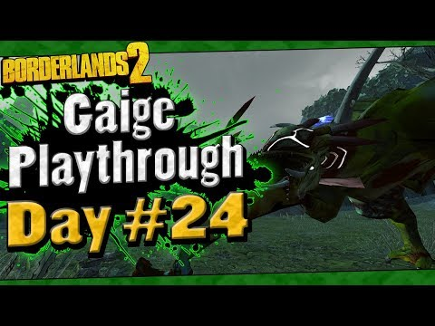 Borderlands 2 | Gaige Playthrough Funny Moments And Drops | Day #24