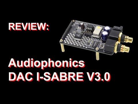 Audiophonics DAC I SABRE V3 0 for Raspberry Pi