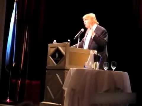 Breaking News  Great Donald Trump Speech In Las Vegas At Treasure Island April 2011