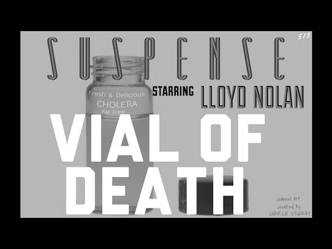 """Detective LLOYD NOLAN Looks for """"The Vial of Death"""" • Best of SUSPENSE"""