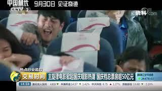 《交易时间(下午版)》 20191008| CCTV财经