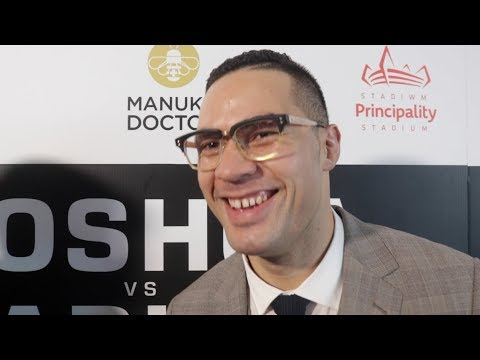 'I SEE MYSELF TAKING MY TIME THEN BOOOM IN COMES THE KNOCKOUT!' - JOSEPH PARKER ON ANTHONY JOSHUA