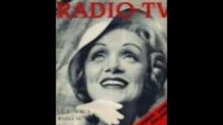 Marlene Dietrich, Leben Ohne Liebe Kannst Du Nicht.