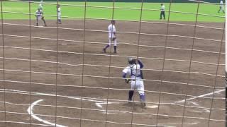 ■【強肩!二塁送球】2017/07/16川島高3年・川口隼輝(鴨島一中)