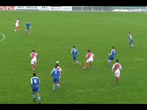 U19 National / Colomiers - Monaco : dribbling