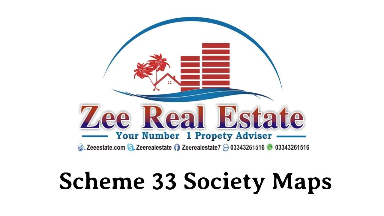 Scheme 33 I Society Maps I Kkarachi I Super Highway