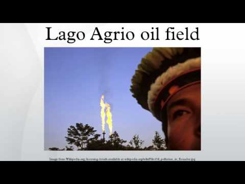 Lago Agrio oil field