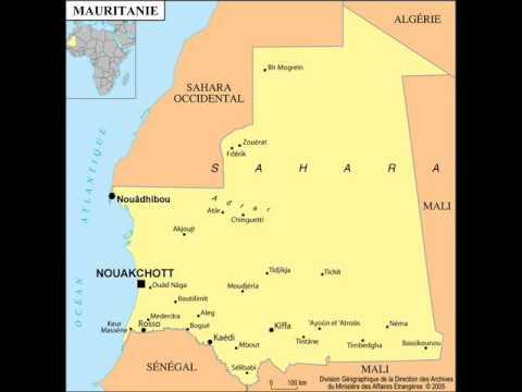 Amad Tamba Diop, Barou Sall and Mama Gaye in Mauritania