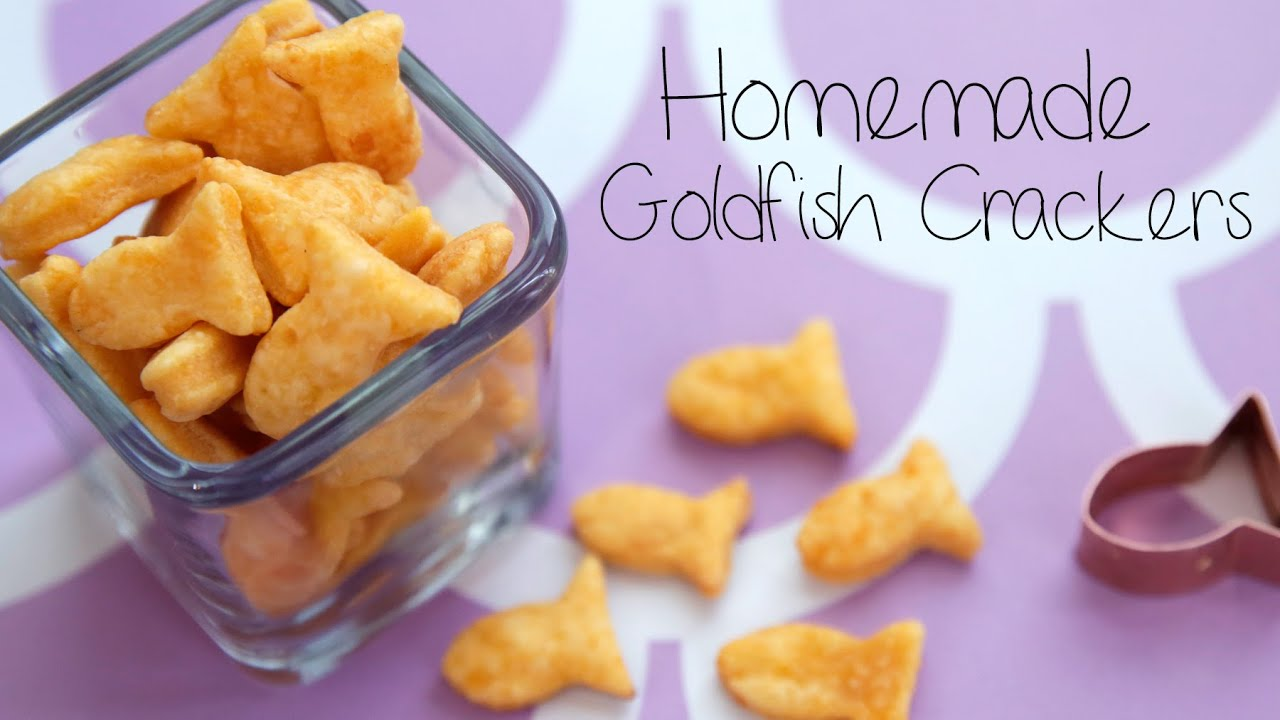 How to Make Goldfish Crackers at Home | Get the Dish