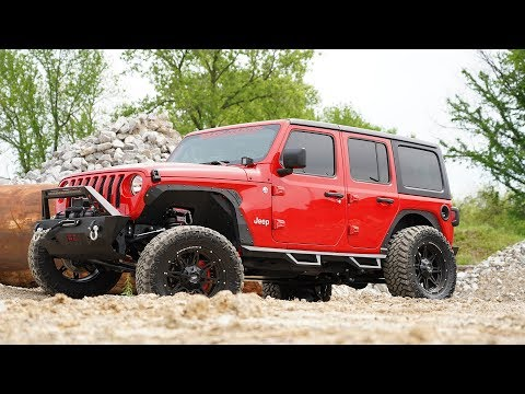 Jeep Wrangler JL Inner Fender Liners by Rough Country