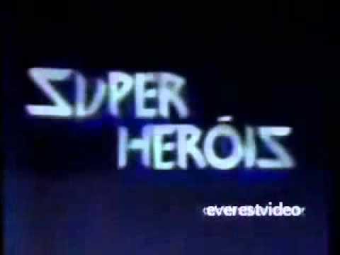 Sessão Super Heróis - TV Manchete