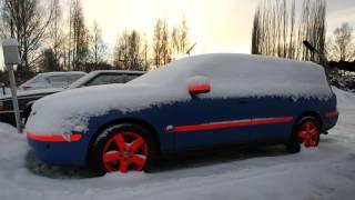 Kaaran etanoli-Volvon ensimmäinen kylmäkäynnistys