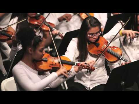 """Party Rock Anthem"" By LMFAO, Arranged by Emily DiUglio, Foundation Academy 8th Grade Orchestra"