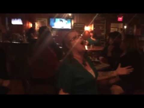 Entire bar singing Creep by Radiohead on Karaoke at Mutiny Pirate Bar in Glen Burnie MD.