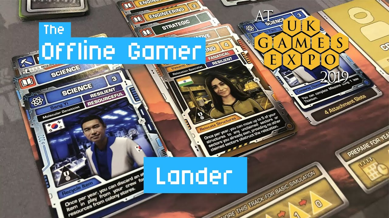 UK Games Expo 2019 - Lander