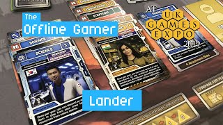UK Games Expo 2019 - Lander