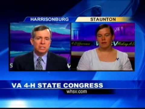 One on One Interview: VA 4-H State Congress (6/14/10)