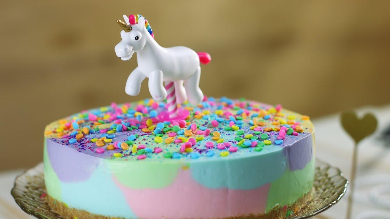 Einhorn Kuchen Deko Selber Machen Minecraft Party Zum