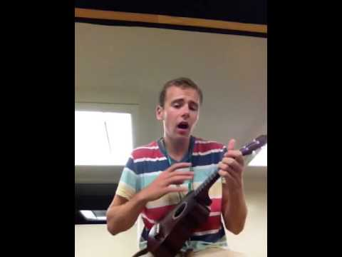 Winter winds by Mumford and sons on ukulele