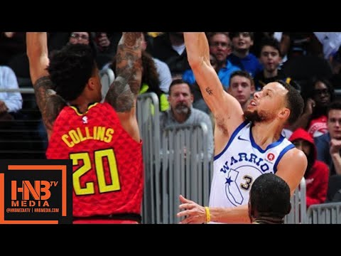 Golden State Warriors vs Atlanta Hawks Full Game Highlights / March 2 / 2017-18 NBA Season