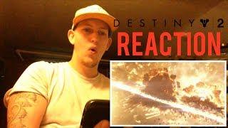 Destiny 2 - Official Gameplay Trailer REACTION!