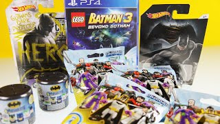 Batman opens some imaginext blind bags surprise toys new mashems eggs unboxing batdad