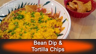 Bean Dip & Tortilla Chips - Ready, Set, Flambé: Fun Size