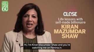 Interview With Kiran Mazumdar Shaw | The Secret to Success | Up Close | Femina