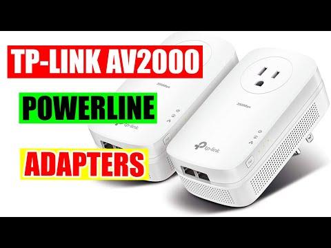 TP-Link AV2000 Powerline Adapters Testing