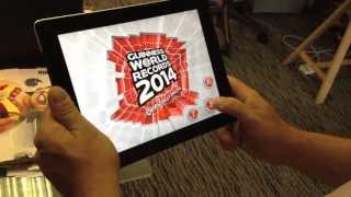 Guinness World Records 2014 Augmented Reality App Preview