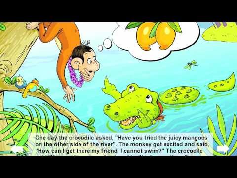The Monkey and the Crocodile – Best Short Stories in English