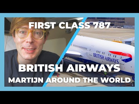 Flying First Class British Airways Trip Report 2019 : London To Mexico Boeing 787 First