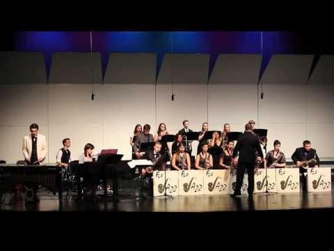 """Fraser High School Jazz Band performs """"In The Mood"""""""