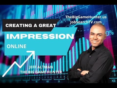 Job Search Radio: Creating a Great Impression Online