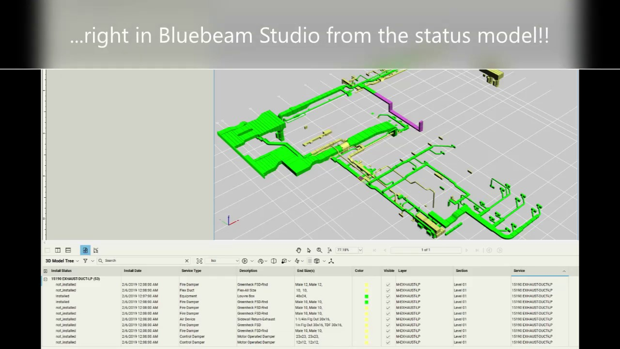 Bluebeam Studio Sync