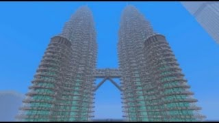 Minecraft: Petronas Towers & MetLife Building