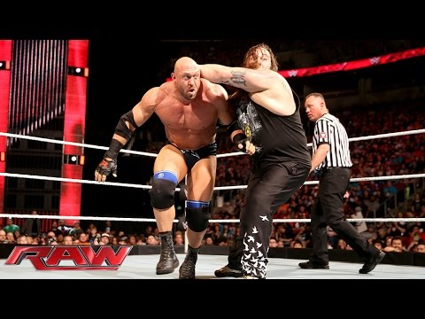 Ryback vs. Bray Wyatt: Raw, February 8, 2016